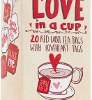 St Valentin version British - Sachets de Thé