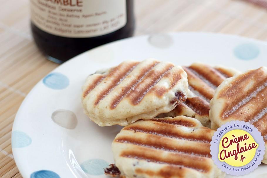 Recette Welsh Cakes