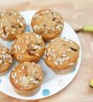 Muffins aux Bananes et aux Raisins Secs