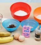 Muffins aux Bananes et aux Raisins Secs - Ingrédients