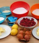 Génoise aux Amandes et aux Fruits Rouges - Ingrédients