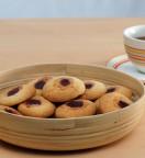 Biscuits empreintes à la confiture